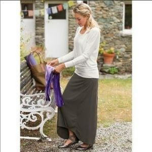 ATHLETA thrones maxi skirt
